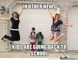 Image result for stressed woman kids back to school