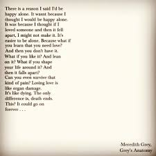Grey's Anatomy Quotes Simple Grey's Anatomy Quote From Meredith Grey On The Season 48 Finale