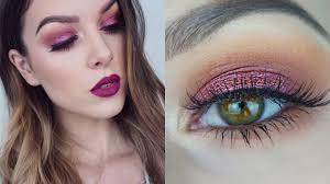 cranberry eyes zoeva cocoa blend palette tutorial rhiannonclaire