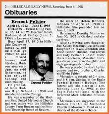 Newspaper Obituary Template Sample Obituary In Newspapers