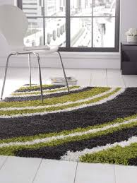 grey and lime green rug designs