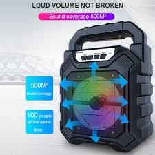 Loa Kẹo Kéo Karaoke Bluetooth Mini - pin 1200mah Âm Thanh Hay Và Phụ Kiện  Hàng chính hãng chính hãng 85,000đ