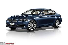 new car launches october 2014 indiaRumour BMW India to launch 5Series Facelift in October 2013