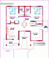 house plan single floor house plan 1000 sq ft kerala home design