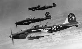 История военной техники оружие второй мировой войны вооруженные  советский штурмовик Ил 2