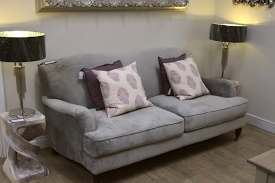 hambledon sofa 2 seater in velvet