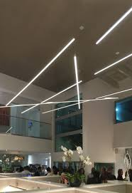 home office light. To Break Away From The Monotony Of Standard Office Lighting, These Linear Suspensions By Edge Lighting Create A Charming Array Light | Home C