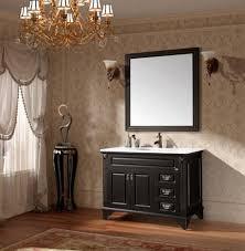 black bathroom vanity. black bathroom vanity from porcher traditional