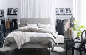 bedroom stunning ikea bed. BedroomsStunning IKEA Bedroom With White Comfy Bed And Nightstands Also Dresser Stunning Ikea I