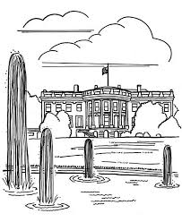 Small Picture United State of America White House in Houses Coloring Page NetArt