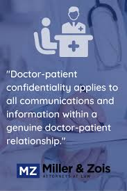 doctor patient confidentiality law