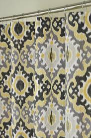 interesting shower curtains yellow and gray and 15 best shower curtains images on home decor bathroom ideas