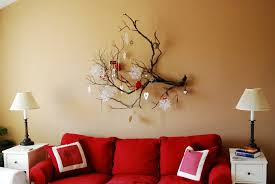 Christmas Decorations For The Wall Tree Branch Wall Decor Lovely Ideas To Decorate Your Interior With