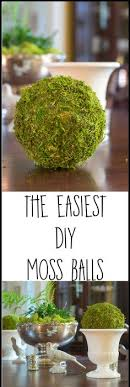 Decorating With Moss Balls TEXTURED MOSS BALL DIY Store Craft and Crafty 18
