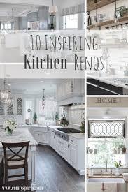 Kitchen Renos Comfortable Spaces 10 Inspiring Kitchen Renos