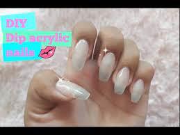 diy dip acrylic powder nails updated