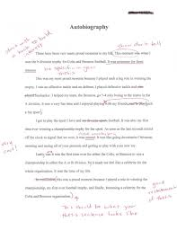 My Autobiography Essay Sample Authobiography Example