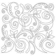 Anne Bright Designs Swirl Party Anne Bright Designs Longarm Edge To Edge