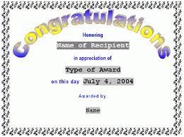 congratulation templates congratulations certificate template word entrancing congratulation