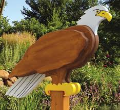 Wood Craft Patterns Stunning 48D Bird Woodcraft Patterns Eagle Sentry Wood Plan