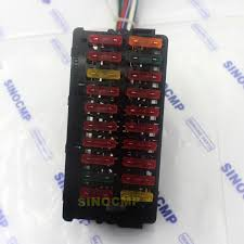 fuse box assembly for komatsu pc pclc pc excavator productpicture0 productpicture1 productpicture2 productpicture3