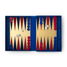 backgammon coffee table game from printworks