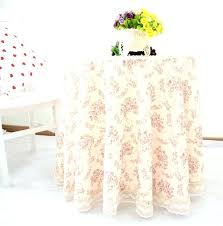 tablecloth for small round table tablecloth small round side table home romantic sweet flowers print wedding
