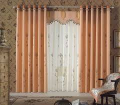 Peach Living Room Beautiful Curtain Ideas For Living Room Decorated With Peach Color