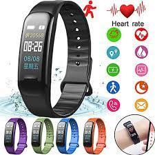 Bán Vòng đeo tay thông minh Wearfit C1 , Đo nhịp tim, đo huyết áp, theo dõi  vận động (Màn hình màu)