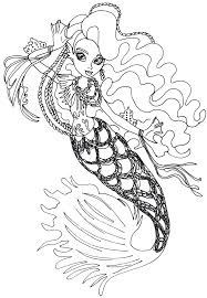 Small Picture Monster high sirena von boo coloring pages ColoringStar
