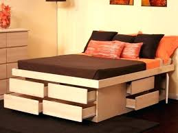 Ikea Platform Bed With Storage Platform Storage Bed Storage Ideas