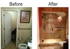 Modern Style Basement Bathroom Before And After Before And After - Ununfinished basement before and after