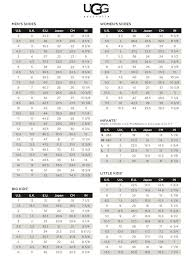 Ugg Baby Shoe Size Chart Bedowntowndaytona Com
