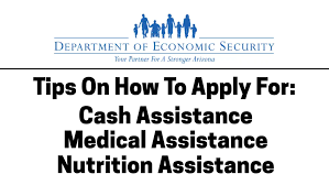 Apply For Cash Assistance Arizona Department Of Economic