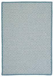 colonial mills outdoor houndstooth tweed sea blue 8x8 area rug contemporary rugs