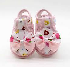 TELOTUNY <b>Newborn Infant Baby Girls</b> Summer Bow Soft Sole ...