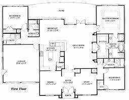 one level farmhouse plan fresh house plans e level luxury modern house plan impressive e level