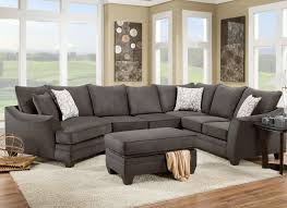 American Furniture 3810 Sectional Sofa That Seats 5 With Left Side  pertaining to Cuddler Sectional Sofa