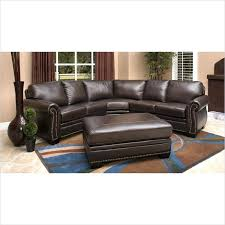 abbyson leather sectional oxford dark brown leather sectional sofa abbyson metropolitan top grain leather sectional and abbyson leather sectional