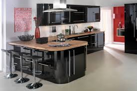 Black Gloss Kitchen Bespoke Fitted Kitchens A Dream Kitchen To Suit Everybodys