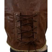 natalie portman leather vest