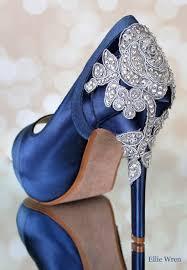 Design Own Shoes Heels Wedding Shoes Navy Blue Wedding Shoes Bridal Heels Custom