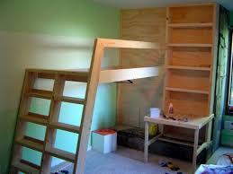 Building A Loft Bed Built In Loft Bed Home