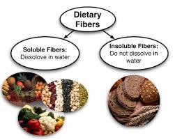 soluble and unsoluble tary fiber chart