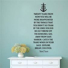 nautical quote vinyl wall sticker home decor words wall decals removable art declas for living room in wall stickers from home garden on aliexpress  on vinyl wall art words stickers with nautical quote vinyl wall sticker home decor words wall decals