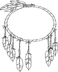 Dream Catcher Worksheet Adorable Dreamcatcher Coloring Page GetColoringPages