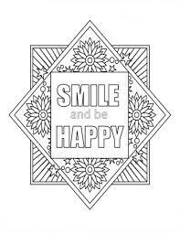 Coloring Pages Positive Quotes Coloring Book Cute Hard