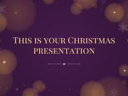 Free Christmas Presentation Templates For Powerpoint And Google Slides