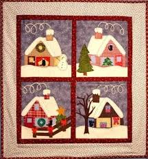 Pin by Funda Belginer on Home&Landcapes   Pinterest   Primitive ... & All Hearts Come Home For Christmas Quilt Pattern (advanced beginner, wall  hanging) Adamdwight.com