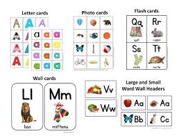 A Z Letter Cards Photo Cards Alphabet Flash Cards More
